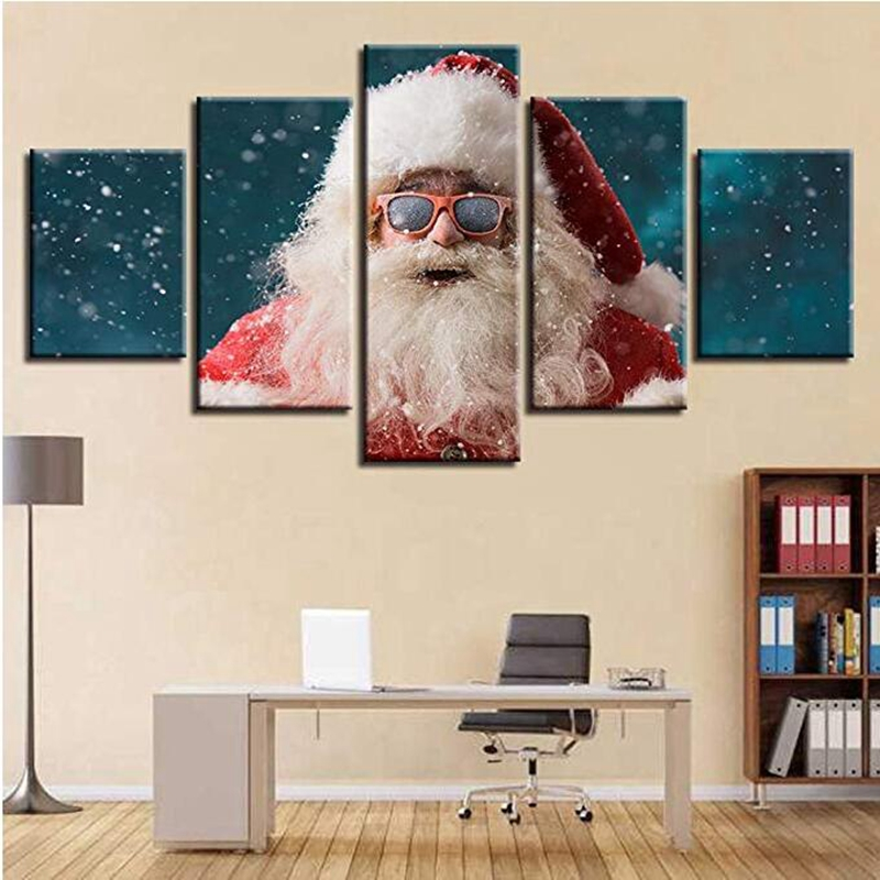 Paintings, Piece, Art, Canvas, Merry, Modern