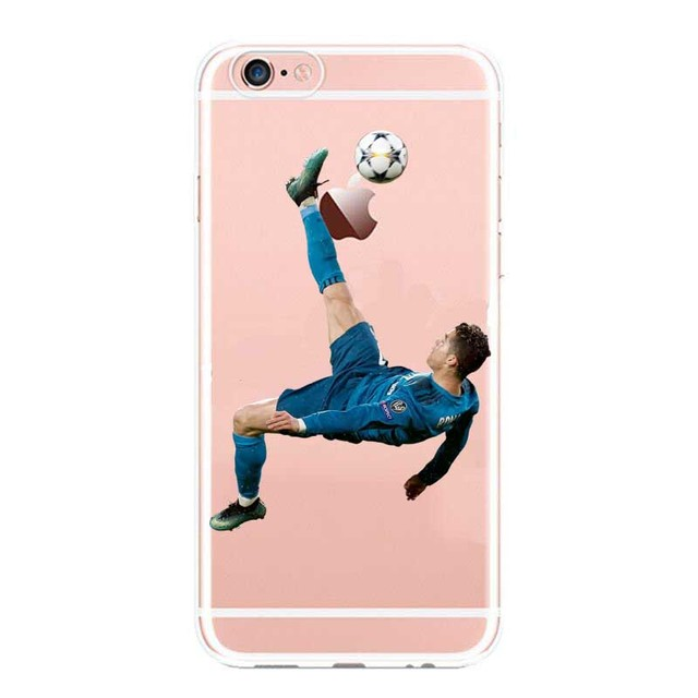 newest f5598 d2861 US $1.99 |Real Madrid Cristiano Ronaldo CR7 Phone Cases For iPhone 5 5C SE  6 6plus 7 XR XS MAX Hard plastic Cover-in Phone Pouch from Cellphones & ...