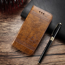 Leather Wallet Case Cover For iPhone