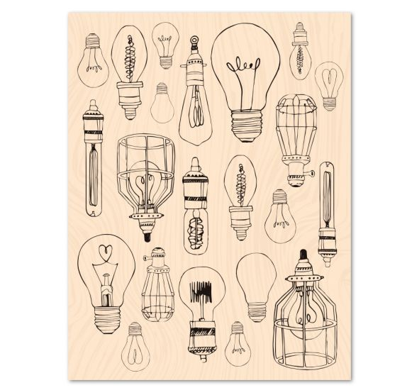 French light  Transparent Clear Stamp for DIY scrapbooking/Card Making  C347