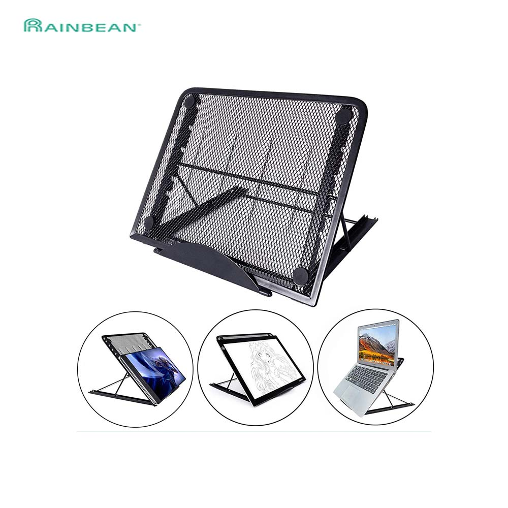 Mesh Ventilated Adjustable Laptop Stand Foldinf Portable For Laptop Notebook Tablet