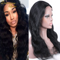 Brazilian Virgin Hair Body Wave Bleached Knots Remy Hair Lace Front Wig For African Americans Natural Hairline With Baby Hair