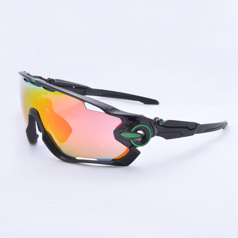 ACEXPNM Coated Mirror Cycling Glasses Bike Outdoor Sports Bicycle Sunglasses For Men Women Goggles Eyewear 3 Lens Drop Shipping