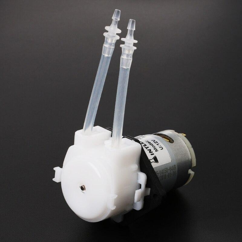 Analytisch Dc 12 V D3 Kleine Peristaltische Dosierung Pumpe 2mm Diy Kopf Rohr Für Aquarium Lab Wasser 5-40 Ml/min Fluss Rate Extrem Effizient In Der WäRmeerhaltung Pumpen