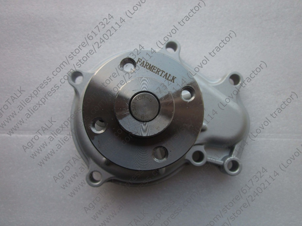 Kubota water pump for tractor or forklift with engine V3300 V3600 V3800 jiangdong ty395e jd495 engine for tractor like jinma the water pump two inlet pipes