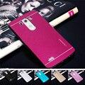 Металлический алюминий Case для LG Magna Леон Белло Дух Joy Fino Pro Lite G4 G4 Бить G4 Мини G3 G3 Stylus Стилус Мини G2 Крышки Фун