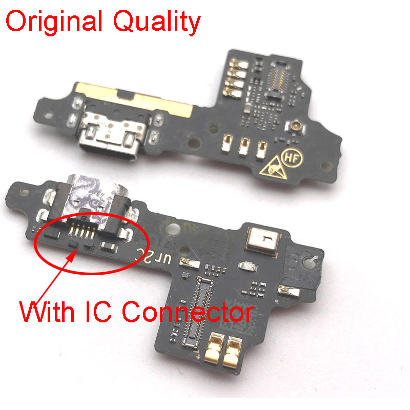 Tested New For ZTE Blade V8 Charging Port Charger Port Dock Board USB Flex Cable Ribbon With Microphone Replacement