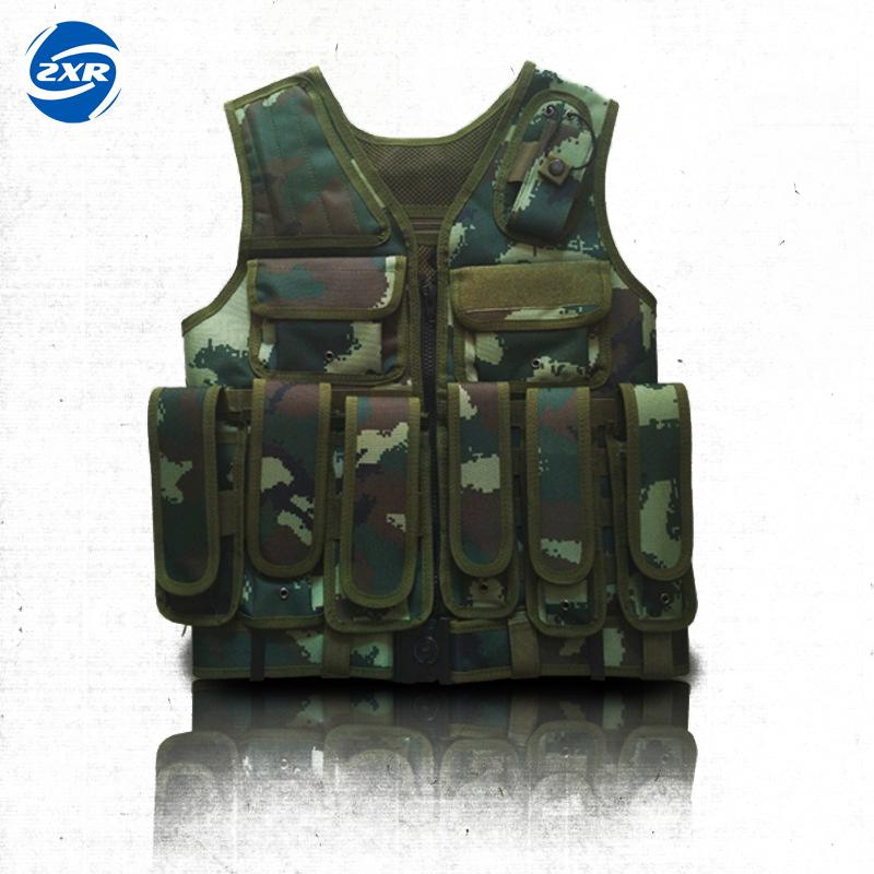 Outdoor Jungle Camouflage Hunting Military Tactical Wargame Body Armor Hunting Vest CS Equipment camouflage tactical vest mens hunting vest outdoor black training military army swat mesh vests protective equipment