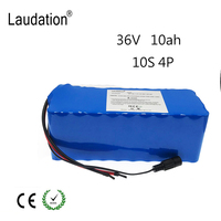 36V 10ah electric bicycle battery pack 18650 Li Ion Battery 10S4P 500W High Power and Capacity 42V Motorcycle Scooter with BMS
