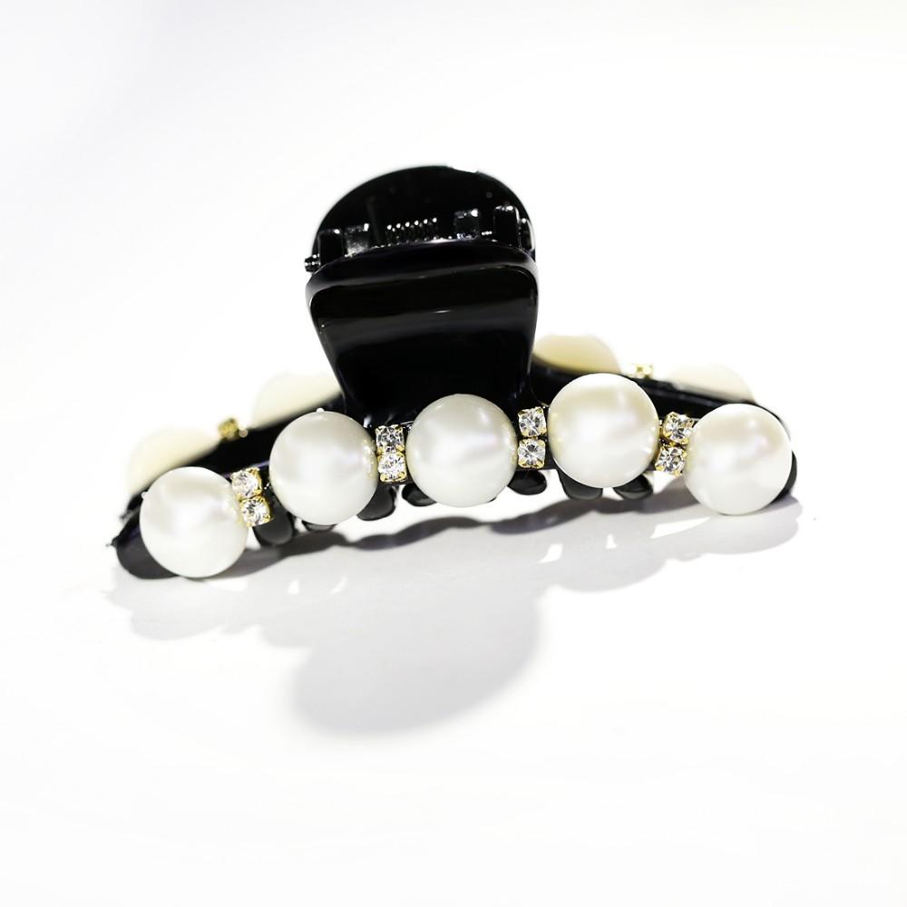 HTB1xr9kMpXXXXchXXXXq6xXFXXXM Elegant Rhinestone Crystals And Faux Pearl Hair Clamp For Women - 5 Styles