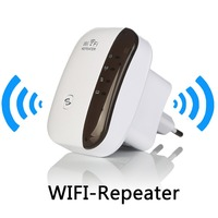 Wireless WiFi Repeater Signal Amplifier 802 11N B G Wi Fi Range Extander 300Mbps Signal Boosters