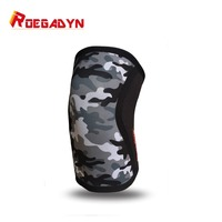 ROEGADYN Most Popular Soft Powerlifting 5mm Neoprene Cool CrossFit Weightlifting Knee Support Compression Knee Sleeve Brace