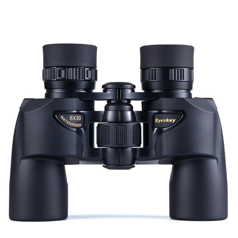 Mini 8x30 powerful Binoculars Eyeskey Nitrogen-filled Waterproof BAK4   Telescopes HD Lll Night Vision Binocular Telescope ToolsMini 8x30 powerful Binoculars Eyeskey Nitrogen-filled Waterproof BAK4   Telescopes HD Lll Night Vision Binocular Telescope Tools