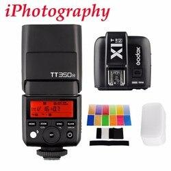 Godox TT350N 2.4G HSS 1/8000s GN36 TTL Wireless Flash + X1T-N for Nikon D750 D7000 D7100 D7200 D5100 D5200 D5400 D3300 D5600
