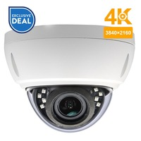 Anpviz HD 8MP IP Camera 100% compatibale with hikvision IVMS4200 Dome H.265 Camera Outdoor camera