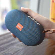 лучшая цена T7Wireless Bluetooth Mini Speaker Stereo Portable Speakers Subwoofer Bluetooth 4.2 with SD FM Outdoor Column Loudspeaker
