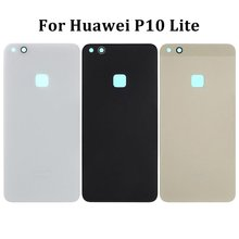 Glass Battery Cover Case For Huawei P10 Lite Housing Rear Do