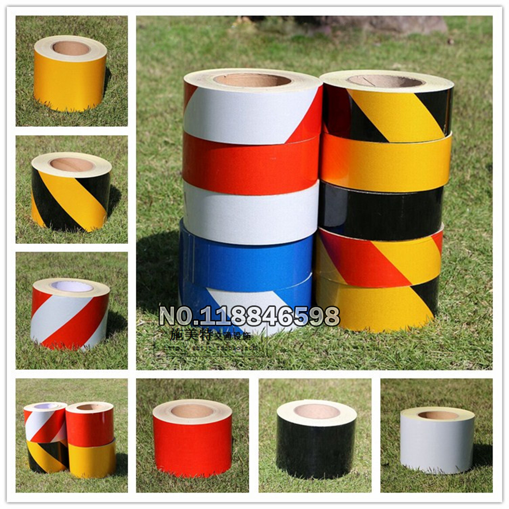 Reflective Tape Film 5x3000cm Stickers Safety Warning Conspicuity Reflective Adhesive Tape Road Traffic Reflection Warning Tap new 10pcs white reflective safety security warning conspicuity tape film sticker reflective film hot sale