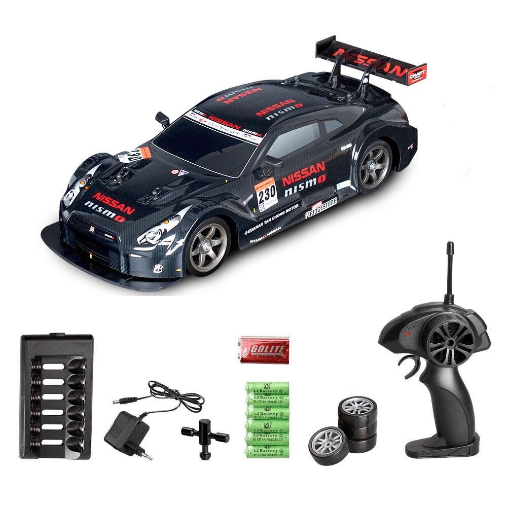 RC Carro de Drift Racing Car Championship 4WD 2.4G Off Road Rockstar Rádio Do Veículo de Controle Remoto Brinquedos Eletrônicos Hobby