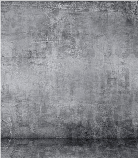 8x12ft Indoor Silver Gray Grey Concrete Wall Distressed
