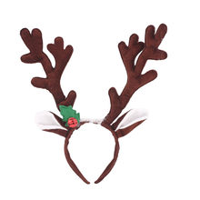 Hot New Year 2019 Merry Christmas Headband Santa Xmas Party Decor Double Hair Band Clasp Head Hoop Toys Xmas B1(China)