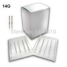 100PCS 14G Piercing Needles Sterile Body Piercing Needles Assorted Sizes Sterile Needles Supply