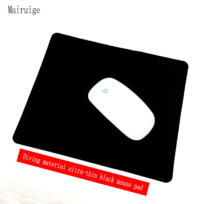 Mairuige Black PC Gaming Mouse Pad 22X18/24X20X0.12CM Diving Material Anti-skid Computer Mouse Pad For Dota2 Star Wars Csgo Mat