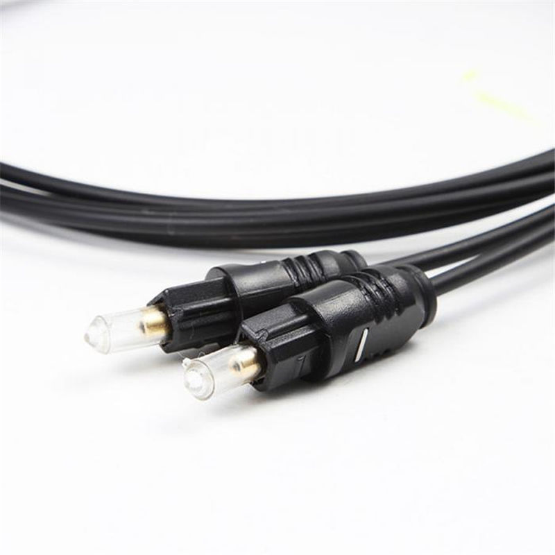 New OD2.2 Gold Plated Digital Audio Optical Optic Fiber Cable Toslink SPDIF Cord 4 0mm digital fiber optical optic audio toslink cable spdif md dvd gold plated 1m 1 5m 2m 3m 5m 8m 10m 15m 20m 25m for choose