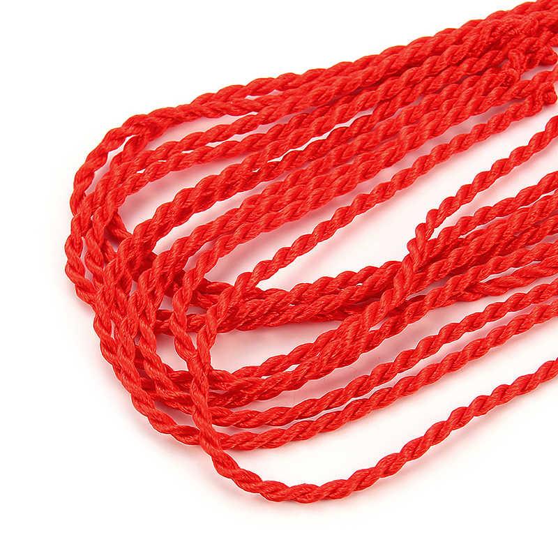 Sıcak satış etnik kırmızı iplik dize bilezik şanslı kırmızı el yapımı halat bilezik kadın erkek takı için sevgilisi çift Reiki muska
