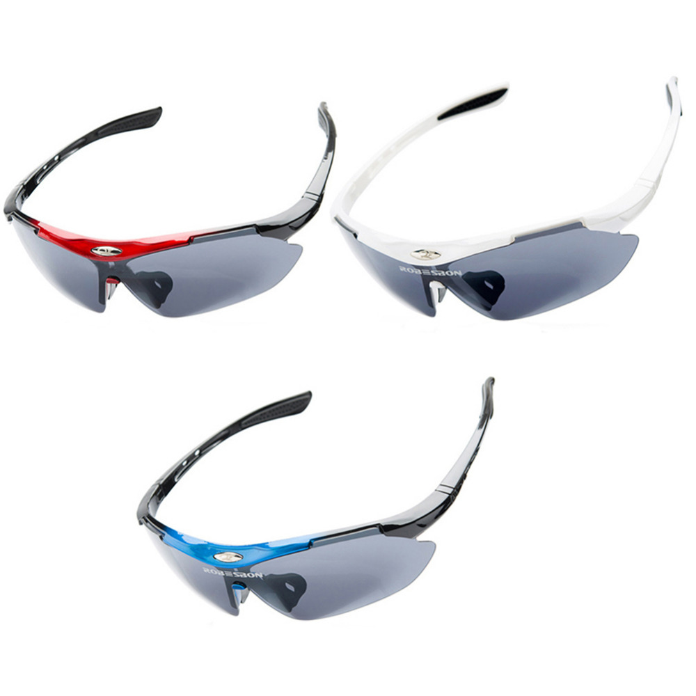 Mens Cycling Eyewear Sunglasses Outdoor Cycling Glasses Bicycle Bike Sun Glasses Eyewear Goggle Las gafas (Without Case)