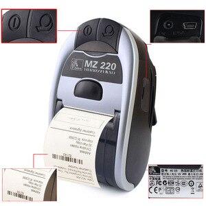Image 3 - Impresora térmica móvil con Bluetooth para Zebra MZ220, 100% Original, inalámbrica, de 48mm para tickets o etiquetas, 203 dpi