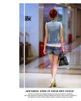 воды для мытья distrressed 8903 четыре сезона личности кардиган женская джинсы Salt