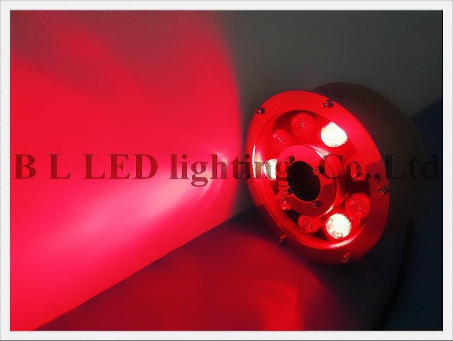 9 Вт светодио дный подводный светодио дный бассейн свет светодио дный фонтан света лампы AC12V вход(совместимый) 9 Вт IP68