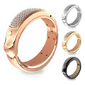 Xiaocai G1 brillante Bling Bling de la joyería elegante pulsera Bluetooth 3.0 / 4.0 teléfonos de sincronización del reloj con 108 diamantes 3 luz Led