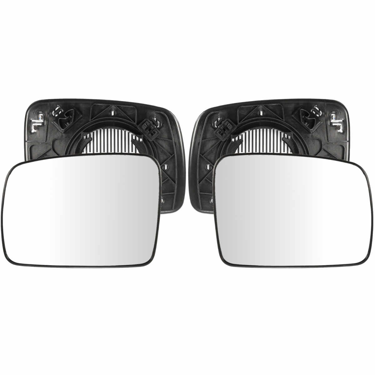 Левое/правое боковое зеркало заднего вида стекло с подогревом боковые наружные зеркала для Land Rover Дискавери Range Rover Vogue freelander 2