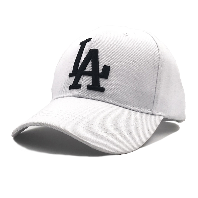 2019New letter   Baseball     Caps   LA Dodgers Embroidery Hip Hop bone Snapback Hats for Men Women Adjustable Gorras Casquette Unisex