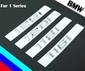 Металлические Наклейки для BMW 1 Серии 116i 118i 120i 125i автомобиль Ремонт Задняя Смещение Эмблемы Автомобилей Хвост Магистральные Декор Серебро автомобиль для укладки