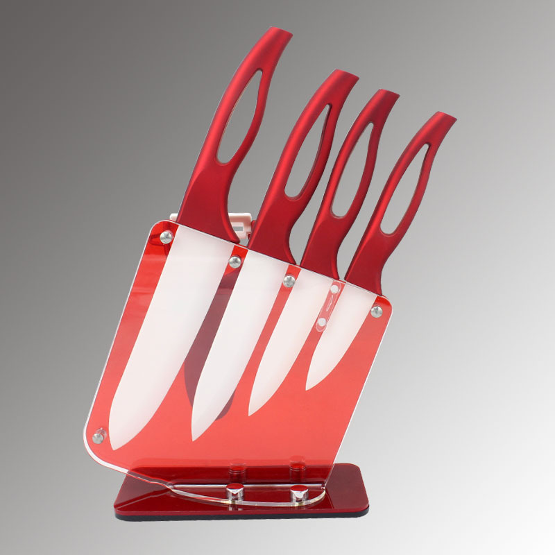 3 4 5 6 inch holder Kuala shaver kitchen ceramic knife sets chefs porcelain Zirconia ceramic knives stand for cooking tools