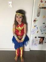 Wonder Woman Costume Halloween Supergirl Deluxe Child Dawn Of Justice Superhero Girls Princess Diana Dress Up