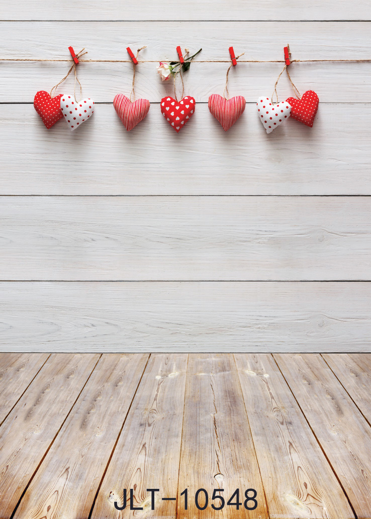 SHANNY Vinyl Custom Valentine day Photography Backdrops Prop Wooden and floor Theme Photography Background 10548 valentine s day vinyl photography backdrops newborns customized computer printed background love valentine f 2050
