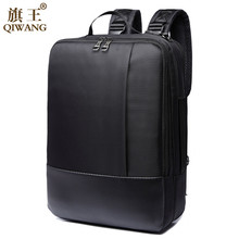 Qi Wang Business Laptop Backpack 15.6 Backpack For Men Bag Women Waterproof Casual Satchel Shoulder Bags School bag for Teenager