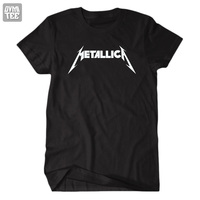 New 2013 Men S And Women S Shorts Short Sleeve Male Metal Black Metallica Rock And