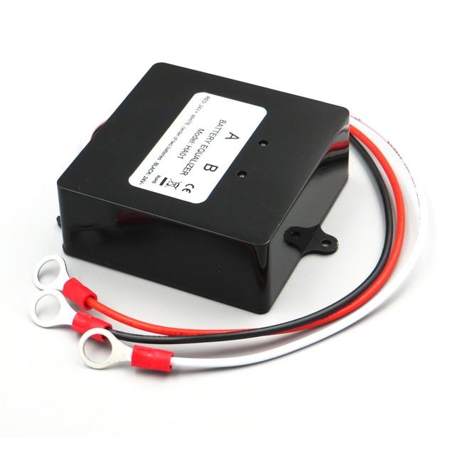 HA01 napięcie baterii korektor balancer dla 2x12 V ładowarka akumulatorów kwasowo-ołowiowych organy regulacyjne połączone szeregowo panele słoneczne komórki