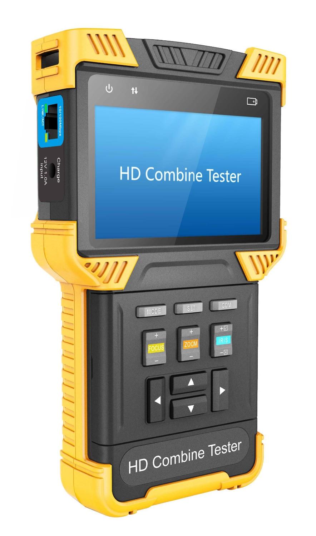 4 אינץ H.265 4 K IP טלוויזיה במעגל סגור Tester - בטיחות וביטחון