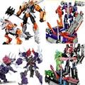 1 Unidades optimus prime robot figuras figuras de acción modelo de coche de caja de color de embalaje de transformación de coches kid juguete de regalo
