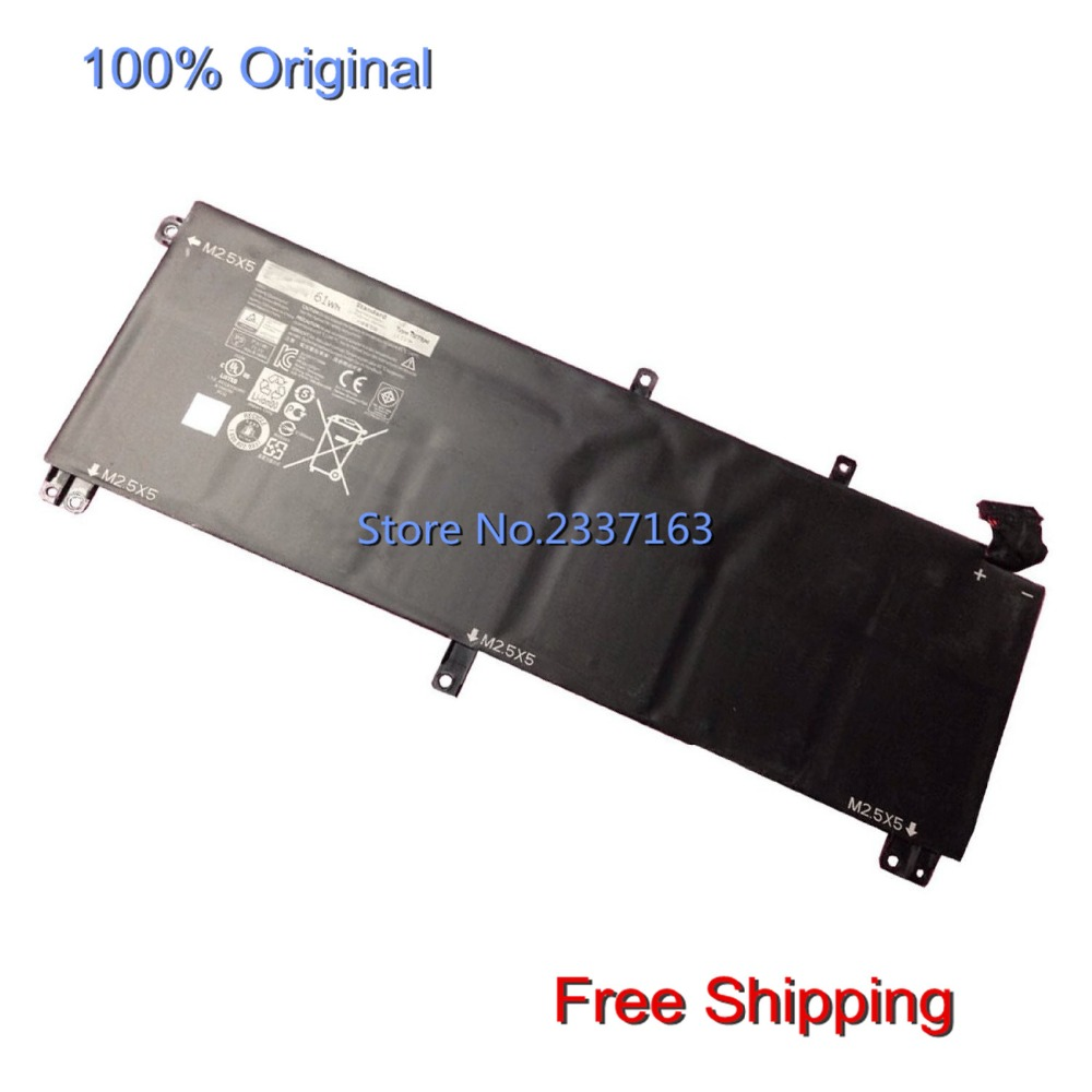 IECWANX 100% new Laptop Battery TOTRM (11.1V 61Wh) for Dell Precision M3800 XPS 15 XPS 15 9530 XPS 9530 T0TRM