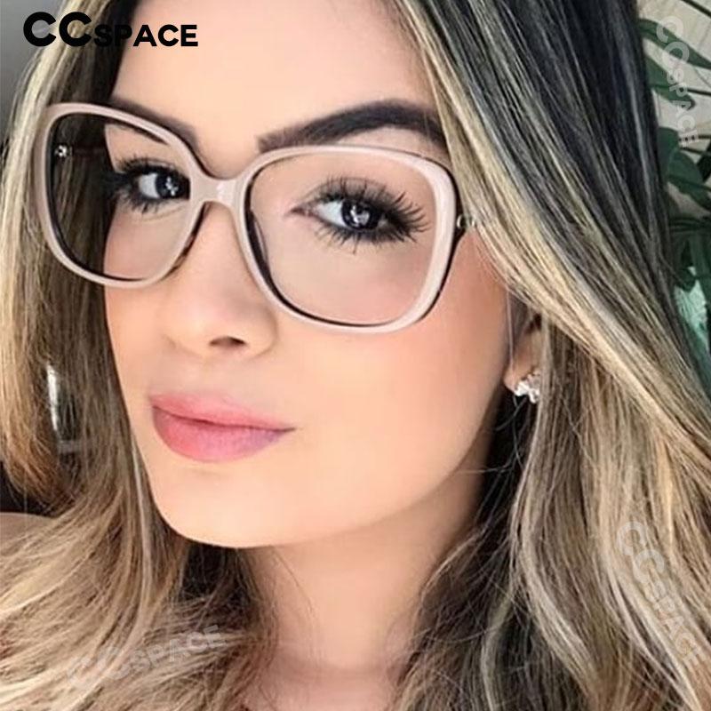 45836 TR90 Cat Eye Glasses Frames Men Women Optical Fashion Computer Glasses