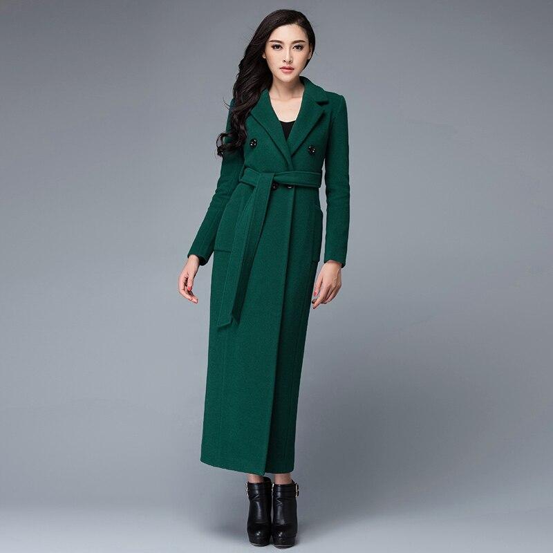 Grand manteau femme laine
