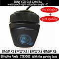 Hd de SONY CCD posterior del coche cámara de reserva del revés del coche cámara de visión trasera con 170 gran angular X3 X1 X5 X6 asistente de estacionamiento
