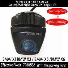Sony HD CCD Автомобильная камера заднего вида автомобиля резервная копия камера заднего вида с 170 широкоугольный X1 X3 X5 X6 парктроник